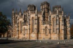 Monasterio de Batalha, Portugal Fotografía de archivo