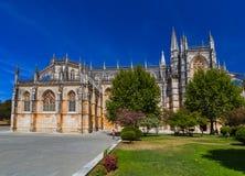 Monasterio de Batalha - Portugal Fotos de archivo libres de regalías