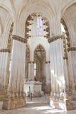 Monasterio de Batalha. Tumba gótica Imágenes de archivo libres de regalías