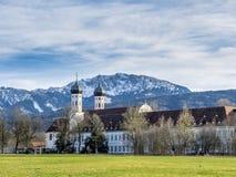 Monasterio de Benediktbeuern, Baviera, Alemania Fotografía de archivo