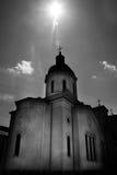 Monasterio de Bistrita, condado de Valcea, Rumania fotografía de archivo