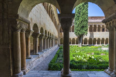 Monasterio de Burgos de silos imagen de archivo