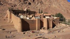 Monasterio de Catherines del santo. Península del Sinaí. Egipto
