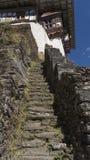 Monasterio de Chagri Reino de Bhután Fotografía de archivo