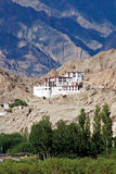 Monasterio de Chemdey, Leh-Ladakh, Jammu y Cachemira, la India fotografía de archivo libre de regalías