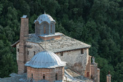 Monasterio de Chilandarou Imagen de archivo