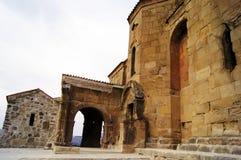 Monasterio de Djvari Imágenes de archivo libres de regalías