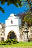 Monasterio de Doksany Imágenes de archivo libres de regalías