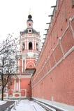 Monasterio de Donskcoi Fotografía de archivo