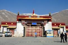 Monasterio de Drepung fotos de archivo