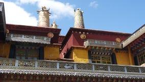 Monasterio de Drepung, Lasa foto de archivo libre de regalías
