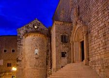 Monasterio de Dubrovnik Fotos de archivo
