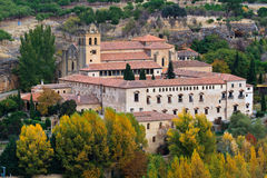 Monasterio de El Parral, Segovia, Spain Stock Photos