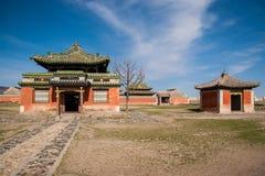 Monasterio de Erdene Zuu Imagen de archivo libre de regalías