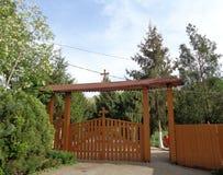 Monasterio de Feredeu, el condado de Arad, Rumania Imagen de archivo