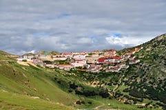 Monasterio de Ganden en Tíbet Foto de archivo