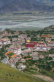Monasterio de Gyantse cerca de Lasa Fotos de archivo