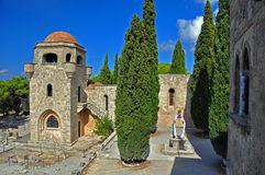 Monasterio de Ialyssos Imagenes de archivo