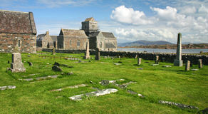 Monasterio de Iona Imagen de archivo