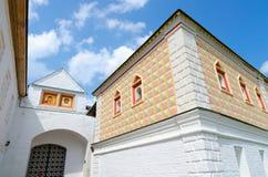 Monasterio de Ipatiev de la trinidad santa, Kostroma, anillo de oro de Rusia fotografía de archivo libre de regalías