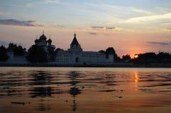 Monasterio de Ipatievsky en Rusia, ciudad de Kostroma Fotografía de archivo libre de regalías
