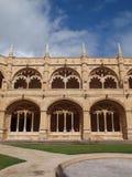Monasterio de Jerònimos, Lisboa, Portugal. Imagen de archivo libre de regalías