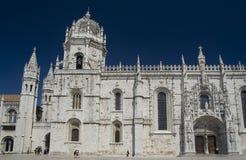 Monasterio de Jerónimos Imagen de archivo libre de regalías