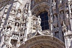 Monasterio de Jeronimos Imagen de archivo libre de regalías