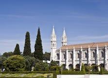 Monasterio de Jeronimos Imágenes de archivo libres de regalías