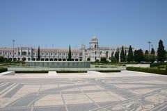 Monasterio de Jeronimos Foto de archivo libre de regalías