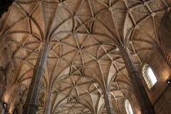 Monasterio de Jeronimos Imagen de archivo