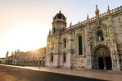 Monasterio de Jeronimos Fotografía de archivo libre de regalías