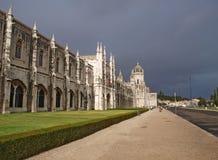 Monasterio de Jeronimos en Lisboa Fotografía de archivo