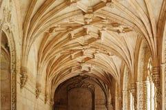 Monasterio de Jeronimos en Lisboa, Portugal Fotos de archivo libres de regalías