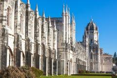 Monasterio de Jeronimos en Lisboa, Portugal Foto de archivo