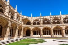 Monasterio de Jeronimos en Lisboa, Portugal Imagenes de archivo
