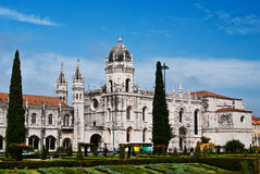 Monasterio de Jeronimos - Lisboa Imagen de archivo libre de regalías