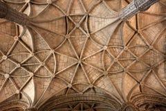 (Monasterio de Jeronimos, Lisboa Fotografía de archivo libre de regalías