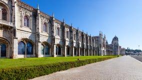 (Monasterio de Jeronimos, Lisboa Imagen de archivo libre de regalías