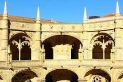 Monasterio de Jeronimos, Lisboa, Portugal Fotos de archivo libres de regalías