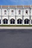 Monasterio de Jeronimos, Lisboa, Portugal Imágenes de archivo libres de regalías