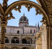 Monasterio de Jeronimos, Lisboa, Portugal Imagenes de archivo