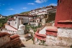 Monasterio de Jokhang cerca de Lasa Imagenes de archivo