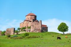 Monasterio de Jvari Mtskheta, Georgia del este Fotografía de archivo