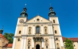 Monasterio de Kalwaria Zebrzydowska, un sitio del patrimonio mundial de la UNESCO en Polonia Imagen de archivo