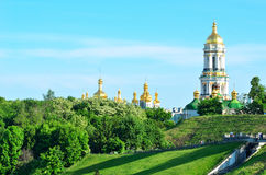 Monasterio de Kiev Pechersk Lavra en Kiev, Ucrania Fotos de archivo libres de regalías
