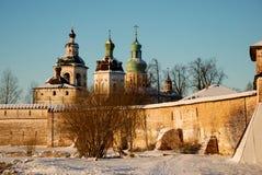Monasterio de Kirillo-belozersky. Foto de archivo