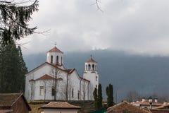 Monasterio de Klisura, Bulgaria Foto de archivo libre de regalías