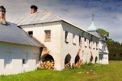 Monasterio de Konevsky Foto de archivo
