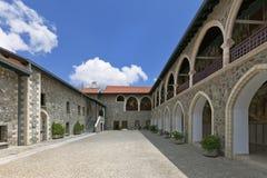 Monasterio de Kykkos, Chipre Imagen de archivo libre de regalías